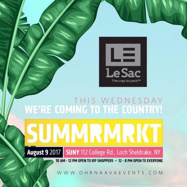 Join us at the SummerMrkt brooklynMRKT this WEDNESDAY August 9hellip